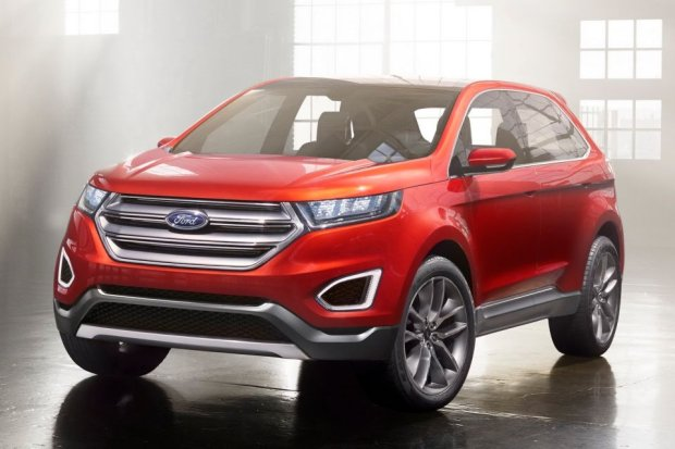 Salon Los Angeles 2013 | Ford Edge Concept