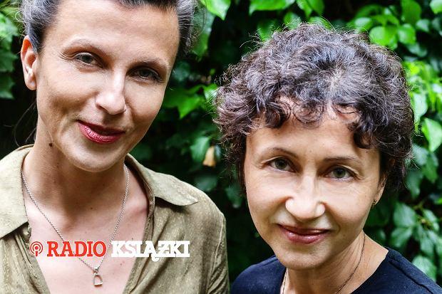 Anna Czerwińska i Tamara Sztyma - kuratorki wystawy 'U króla Maciusia' w Polin