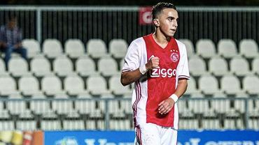 Abdelhak Nouri w meczu drużyny Ajaksu Amsterdam. Źródło: Instagram, 2016