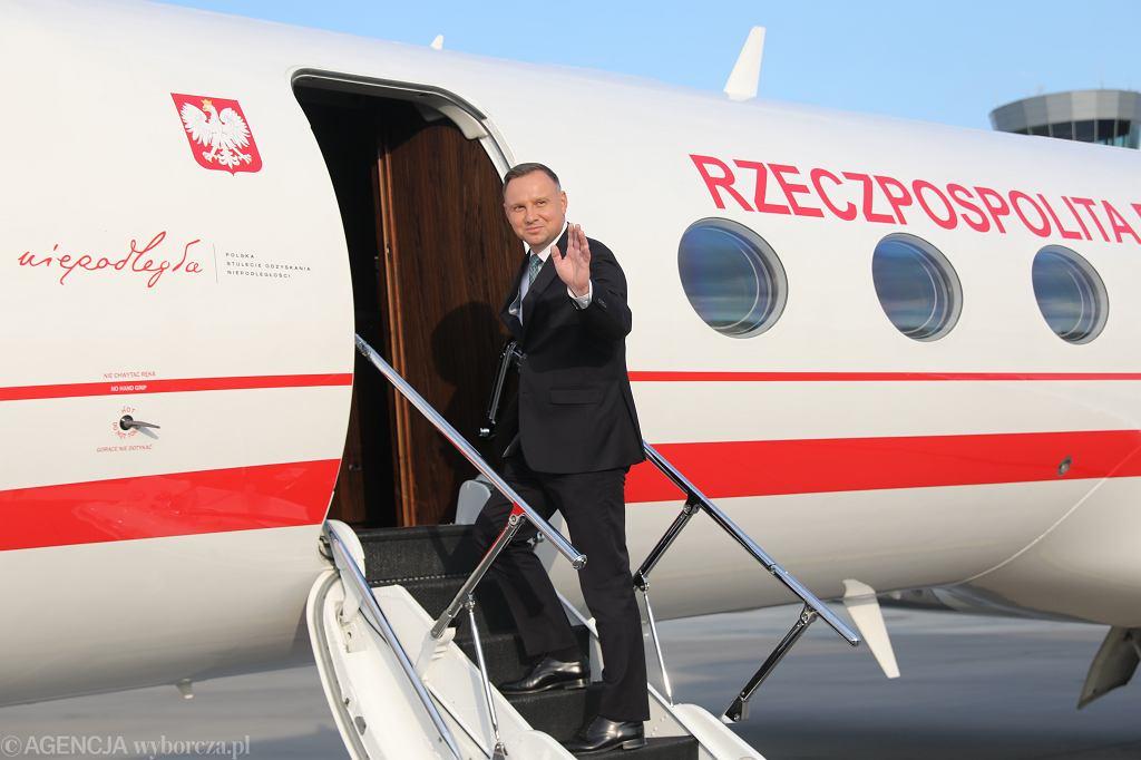 Loty Andrzeja Dudy kosztowały podatników nawet 700 tys. za 4 msc. A to nie wszystkie wycieczki