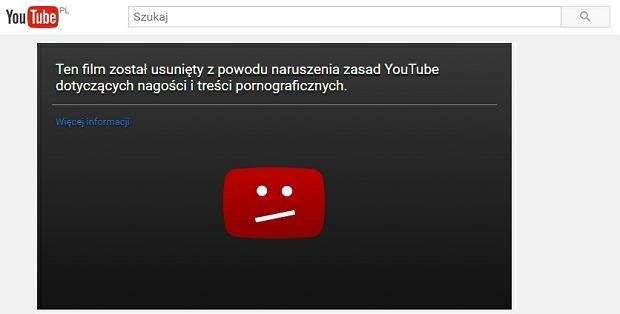 Screen z serwisu YouTube.com