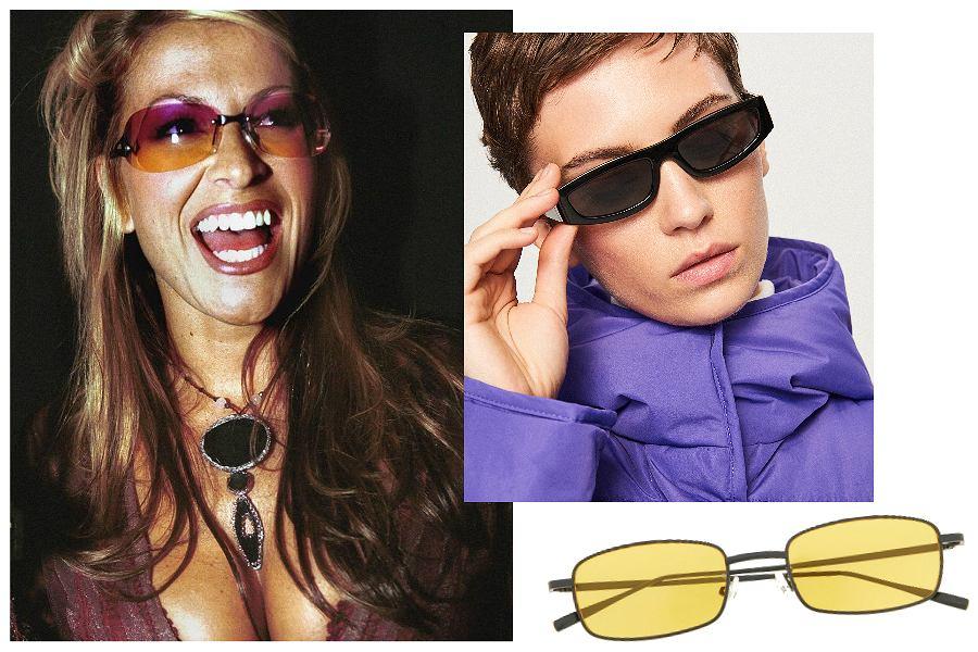 Wąskie okulary