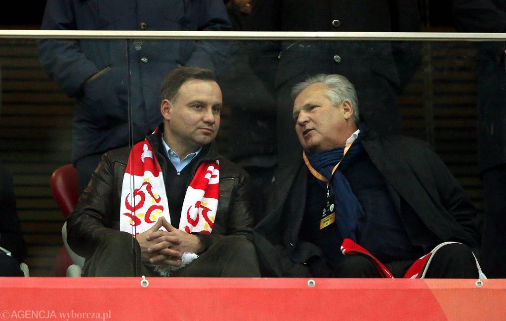 Aleksander Kwaśniewski i Andrzej Duda
