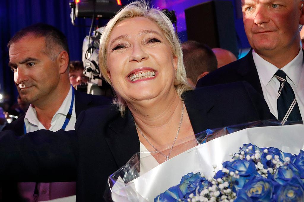 Marine Le Pen, kandydatka Frontu Narodowego na urząd prezydenta Francji.
