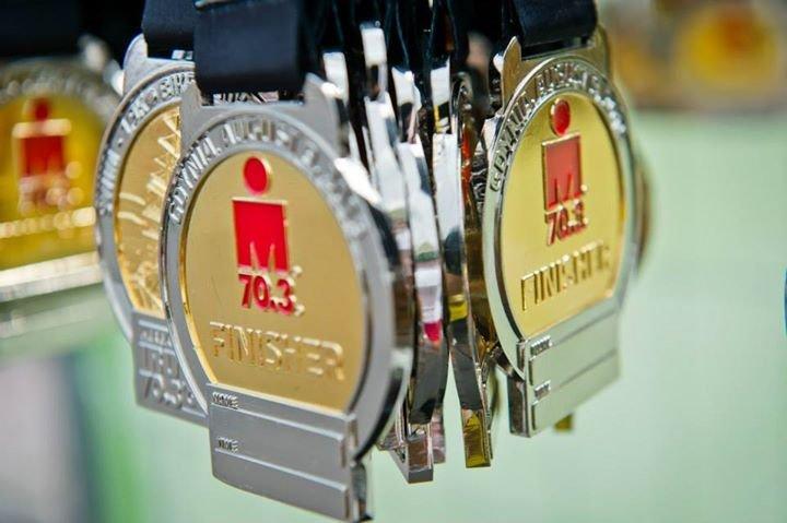Upragnione medale czekały na nas na mecie