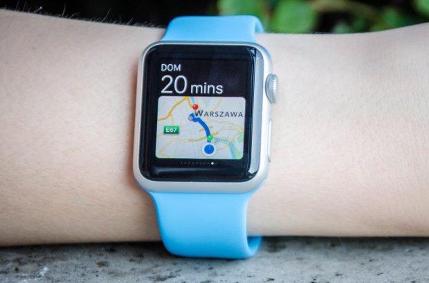 Nawigacja na Apple Watch to jedna z jego najlepszych funkcji