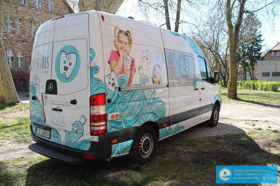 Dentobus dla pacjentów szpitala zakaźnego w Gorzowie