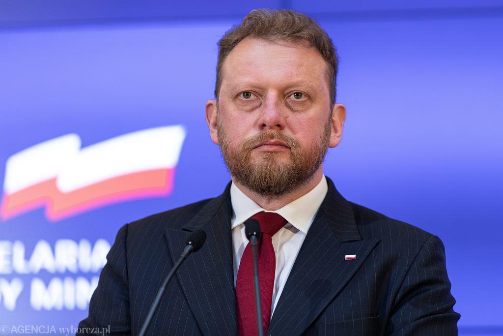 Minister zdrowia Łukasz Szumowski.