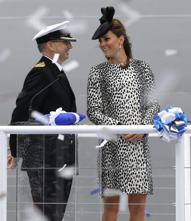 Kapitan Tony Draper i księżna Kate