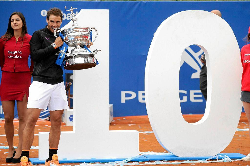 Rafael Nadal wygrał w Barcelonie po raz dziesiąty