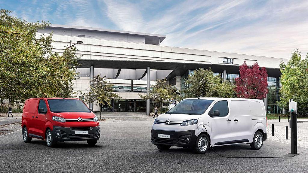 Citroen e-Jumpy 2020, elektryczny samochód dostawczy