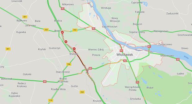 Dwa wypadku na autostradzie A1. Droga w obie strony została zablokowana