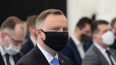 Grupa Azoty Zakłady Chemiczne 'Police'. Wizyta prezydenta Andrzeja Dudy i wicepremiera Jacka Sasina