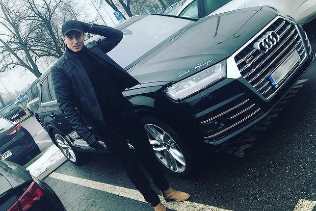 Nowy samochód Roberta Lewandowskiego