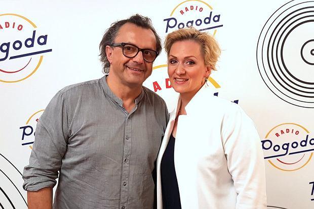 Wiesław Tupaczewski i Anna Stachowska w Radiu Pogoda