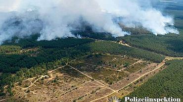 Pożar w Meklemburgii