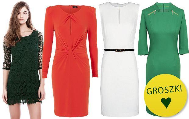 Sukienki w świątecznych kolorach - idealne na Wigilię