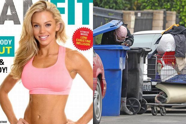 Loni Willison została zauważona przez paparazzi podczas przeszukiwania ulic, w celu znalezienia przedmiotów, które ułatwią jej życie. Była gwiazda fitnessu przemieszczała się z ogromnym wózkiem.