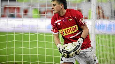 Michał Buchalik w barwach Lechii Gdańsk