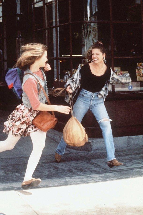 Angela i Rayanne w serialu