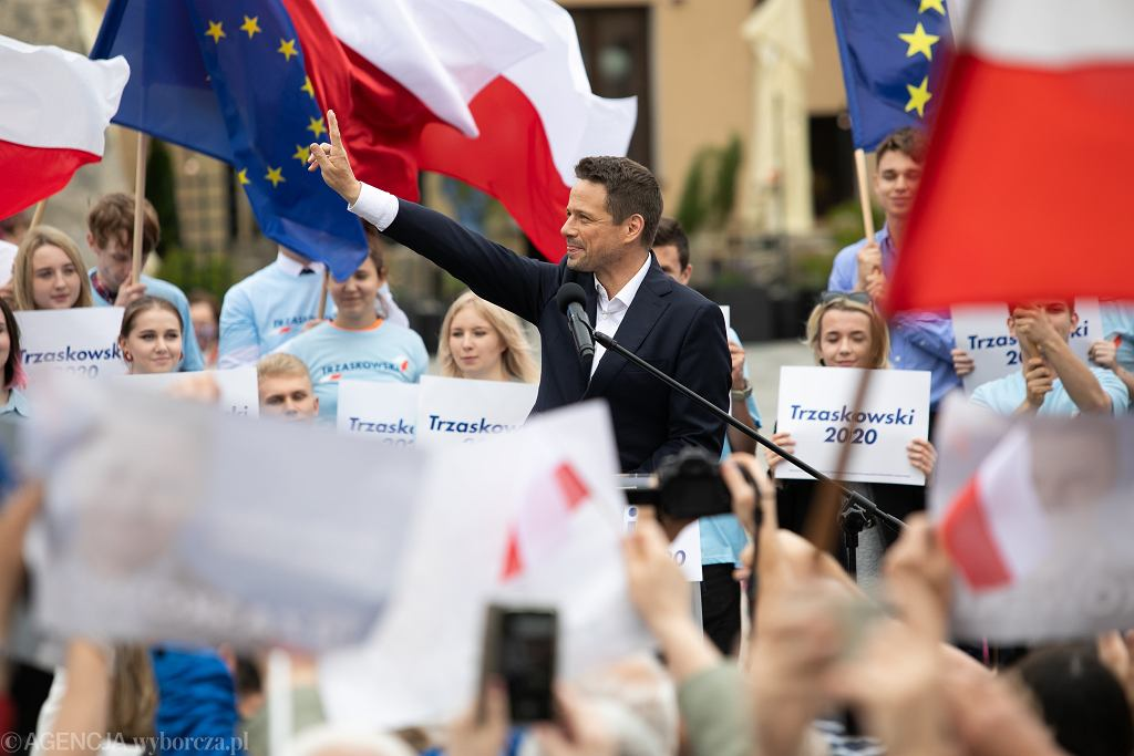 23.06.2020, Rafał Trzaskowski w Lublinie