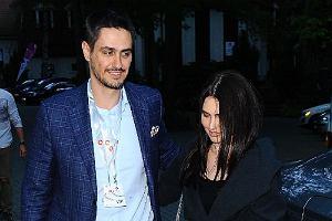 Tobias Solorz z żoną