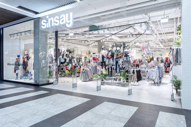 Jeden ze sklepów Sinsay, marki należącej do LPP