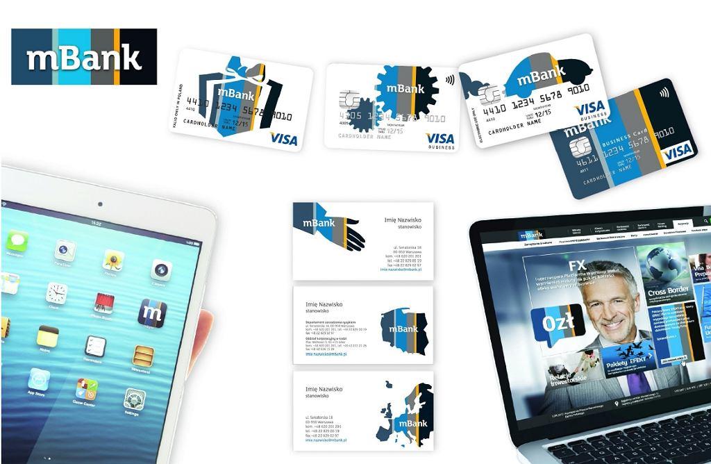 Nowe wzory kart mBanku