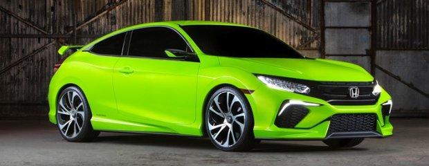Salon Nowy Jork   Honda Civic Concept   Przedsmak