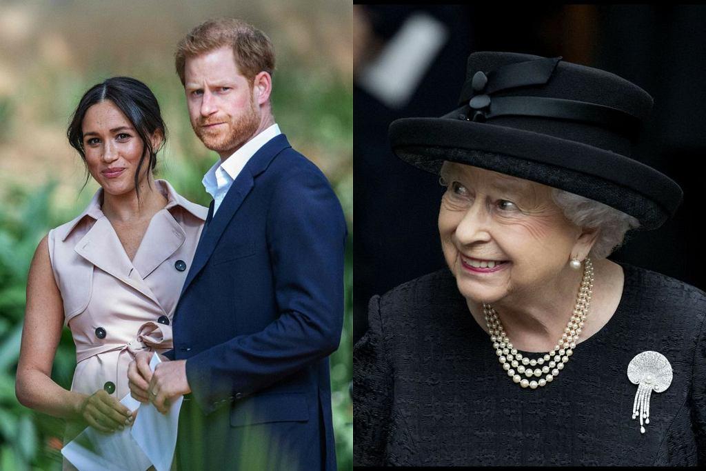 Królowa Elżbieta poznała najmłodszą prawnuczkę