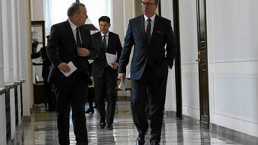Wczoraj odbyło się w Sejmie spotkanie liderów opozycji z J. Kaczyńskim