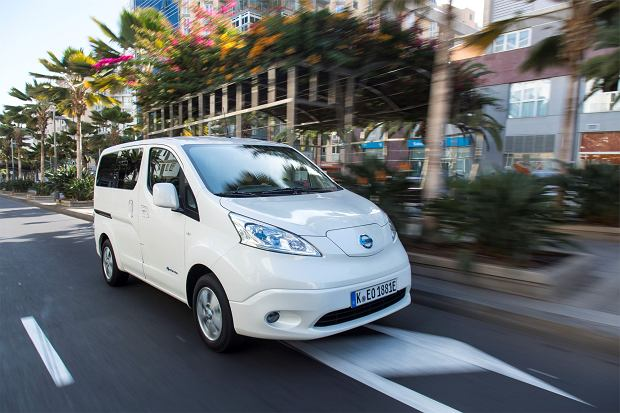 The upgraded Nissan e-NV200: The LCV market game changer