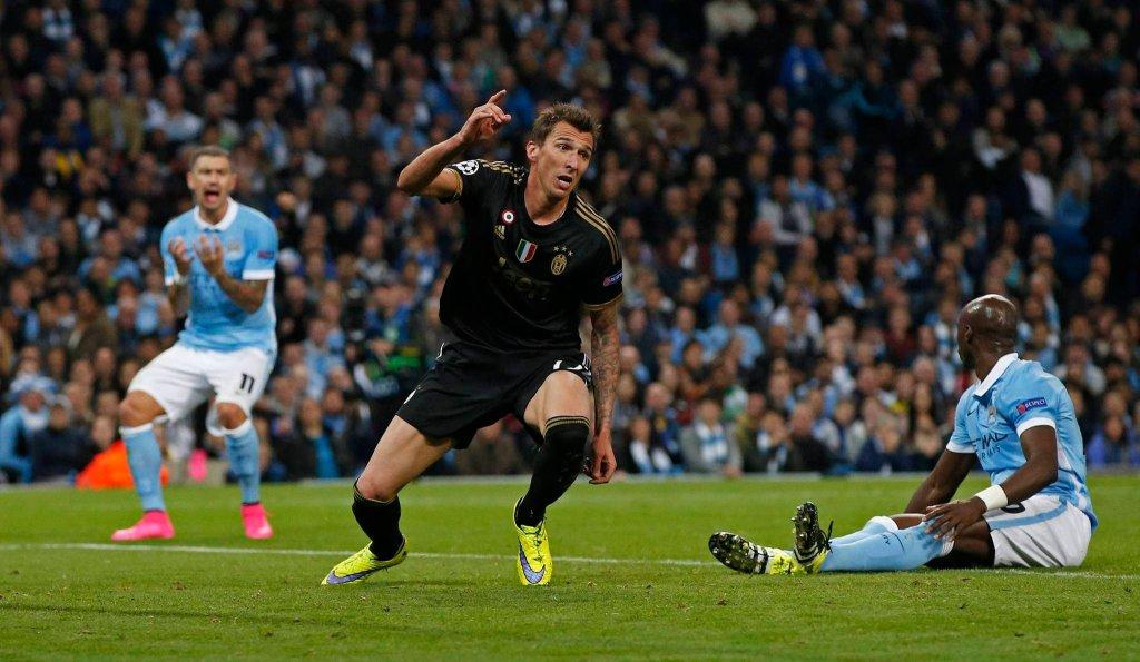 Manchester City - Juventus Turyn 1:2. Mario Mandzukić