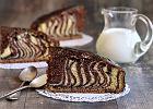 Ciasto zebra - jak to się robi? Mamy prosty, klasyczny przepis, który na pewno ci wyjdzie