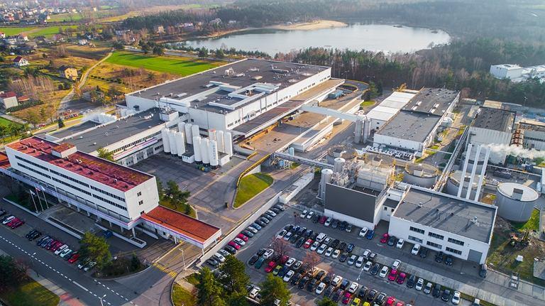 Fabryka Danone w Bieruniu - potencjał exportowy