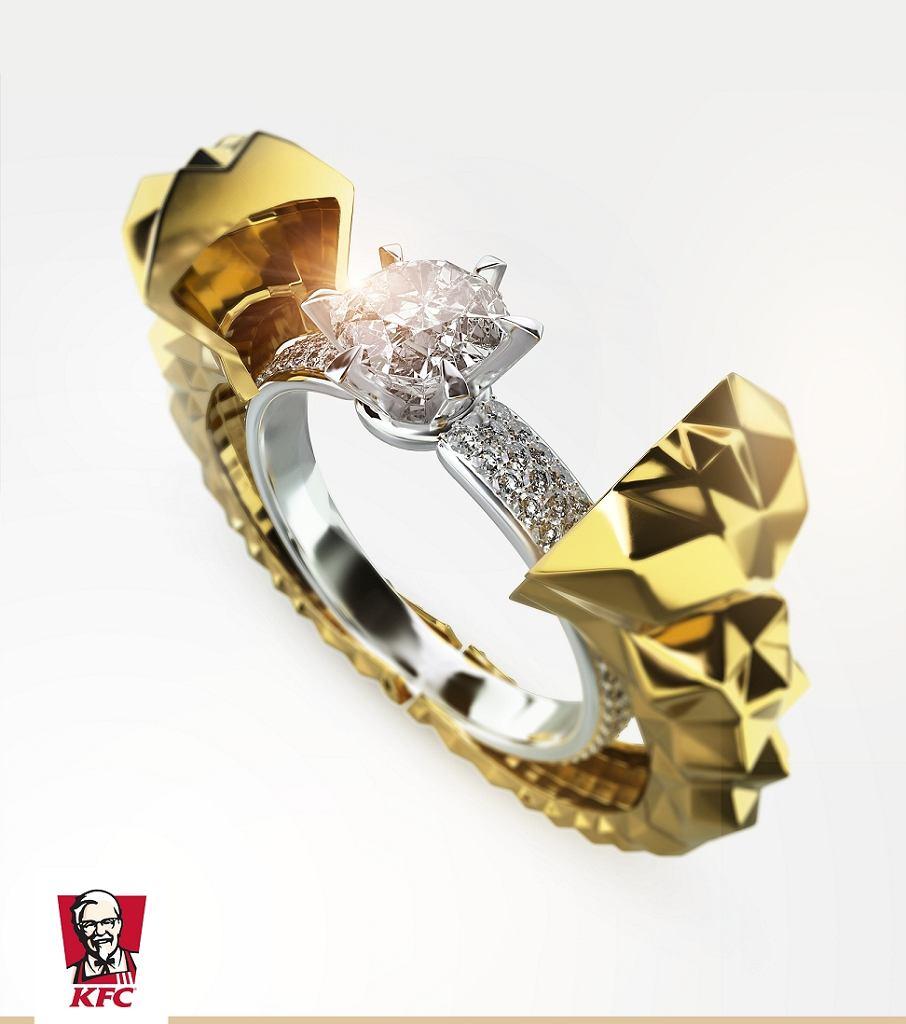 Projekt pierścionka KFC