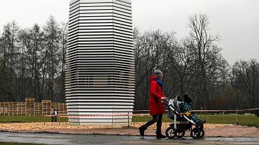 Kraków, Park Jordana. Smog Free Tower - oczyszczacz powietrza