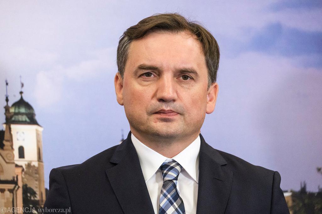 Zbigniew Ziobro do komisarz Rady Europy: Niech się pani wstydzi swojego apelu