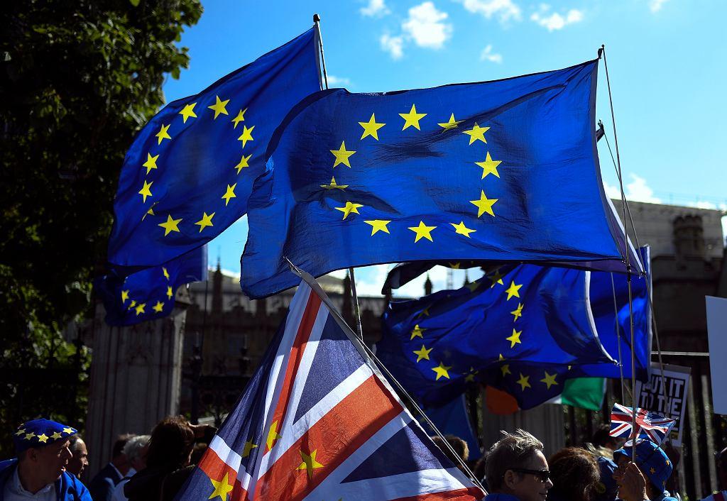 Protest przeciwników brexitu, 04.09.2019 r.