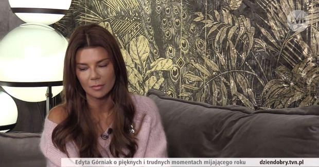 Edyta Górniak w programie 'Dzień dobry TVN'