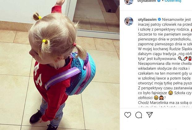 """""""Od euforii do histerii"""" - Otylia Jędrzejczak o pierwszych dniach córki w przedszkolu"""