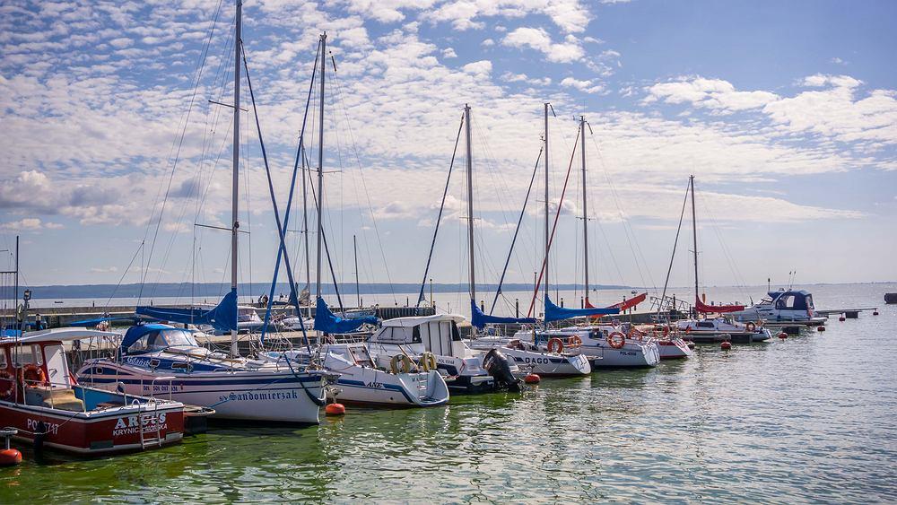 Marina w Krynicy Morskiej