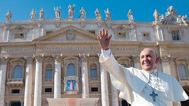 Franciszek podczas beatyfikacji Pawła VI