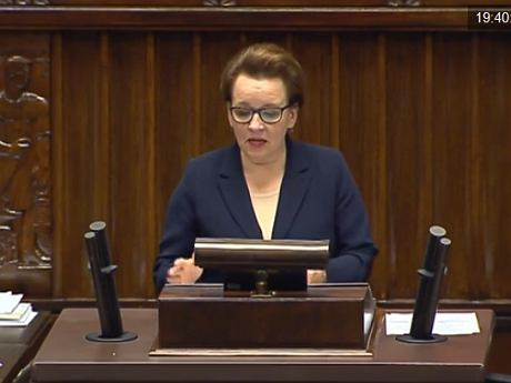 Anna Zalewska (iTV Sejm)
