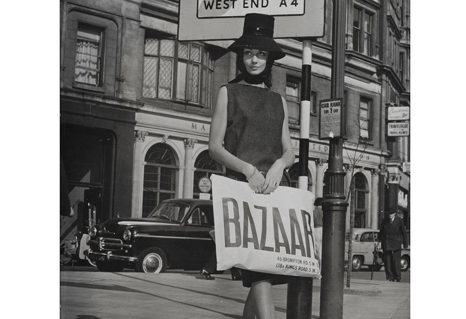 Pierwszy butik Mary Quant nazywał się Bazaar