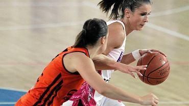 Ewelina Gala w meczu z CCC Polkowice
