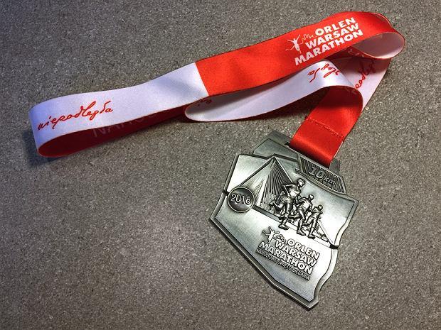 Medal bieg OSHEE 10km