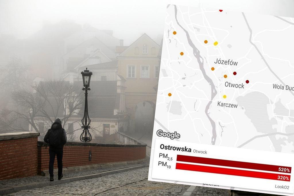 Smog w Polsce. W wielu miastach poziom zanieczyszczeń powietrza przekroczył dozwolone normy
