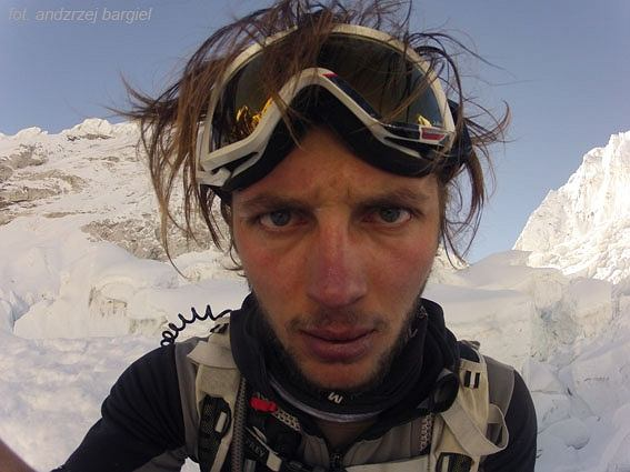 Andrzej Bargiel na Lhotse