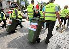 Śmieciarze protestują przeciw zmianom w zamówieniach publicznych